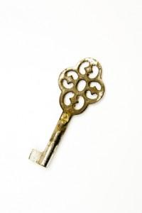 Roestige sleutel